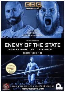 Förbered dig på en upplevelse utöver det vanliga med GBG Wrestling på Pustervik