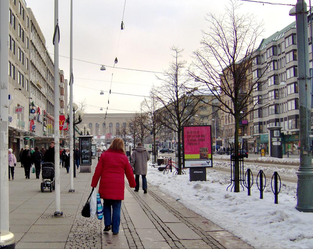 Få julstämning i Göteborg