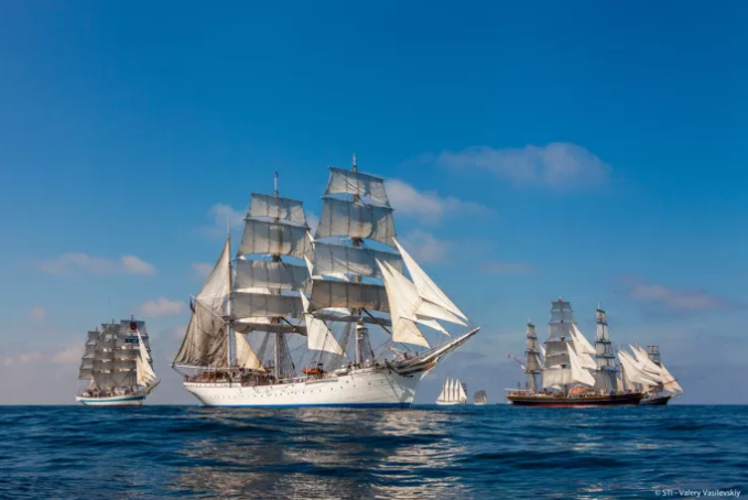 North Sea Tall Ships Regatta tar över Frihamnen. Foto: STI - Valery Vasilevskiy/Göteborg & Co