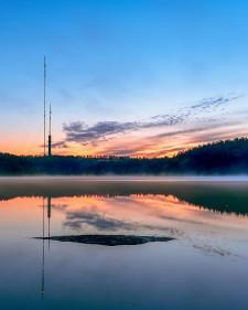Delsjön erbjuder bad