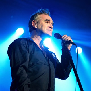 Morrissey står på scen på årets Way Out West