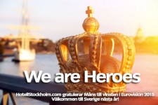 Eurovision vinnare 2015 - Heroes, 2016 tävling i Sverige