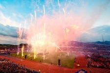 Gothia cup fotboll i Göteborg, invigning