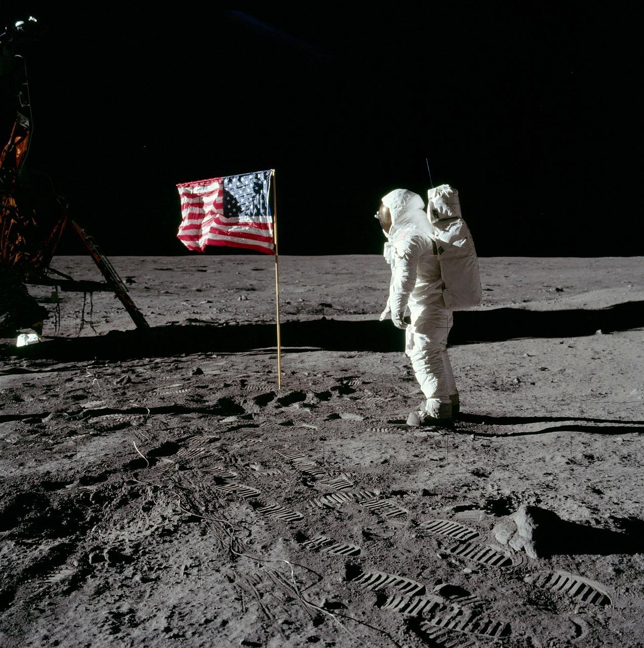 Fira månlandningen för 50 år sedan med Rymdveckan!