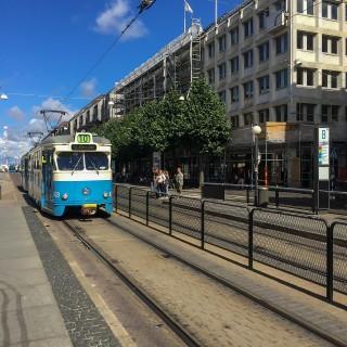 Ta spårvagnen till Liseberg och se Jöback
