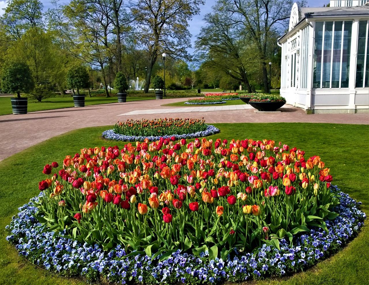 Besök vackra parker i Göteborg