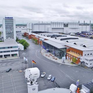 Volvo har ett eget museum i Göteborg